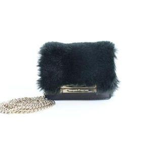Mini Fur Crossbody Chain Flap 21mz0824